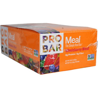 ProBar Simply Real Bar Whole Berry Blast Case