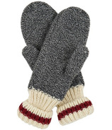 Little Blue House Heritage Adult Mittens Red Stripe