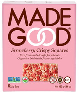 MadeGood Strawberry Crispy Squares