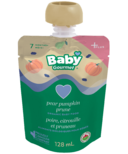 Baby Gourmet Plus Pear, Pumpkin & Prune Organic Baby Food