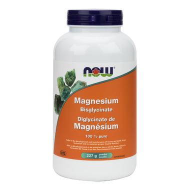 NOW Foods Magnesium Bisglycinate Powder