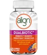 Align DualBiotic Prebiotic + Probiotic Gummies