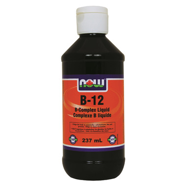 NOW Foods B-12 B-Complex Liquid