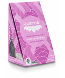 JusTea Purple Pyramid Tea Bags Purple Jasmine