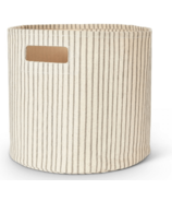 Petit Pehr Stripes Away Bin Pebble