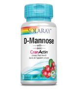 Solaray D-Mannose with CranActin Cranberry Extract