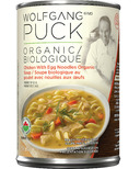 Wolfgang Puck Organic Chicken with Egg Noodles Soup
