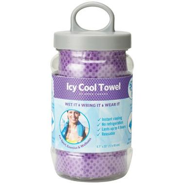 Upper Canada Icy Cool Towel Purple