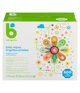 Babyganics Baby Wipes Fragrance Free Bulk Pack