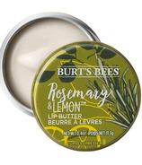 Beurre pour les lèvres au romarin et au citron de Burt's Bees