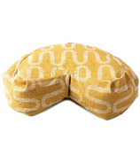 Halfmoon Curved Meditation Cushion Limited Edition Honeycomb