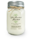 The Scented Market Soy Wax Candle Cracklin Birch