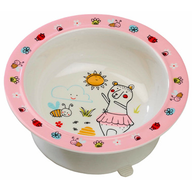 Sugarbooger Suction Bowl Clementine the Bear