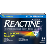Reactine Extra Strength 84 Tablets