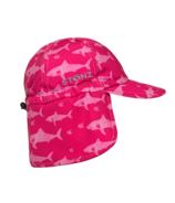 Stonz Flap Cap Fuchsia Shark