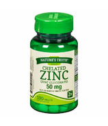 Nature's Truth Chelated Zinc Gluconate 50 mg