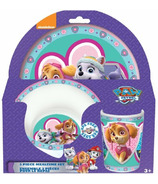 Paw Patrol Purple Melamine Mealtime Set