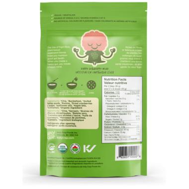 Holy Crap Organic Cereal Apple Cinnamon Superseed Blend Original