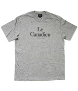 Province of Canada Le Canadien Mens Heather Grey Tee
