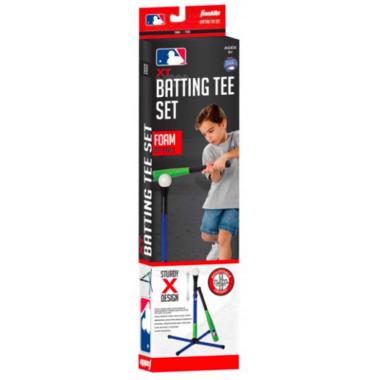 Franklin Sports MLB XT Batting Tee with Foam Bat and Ball