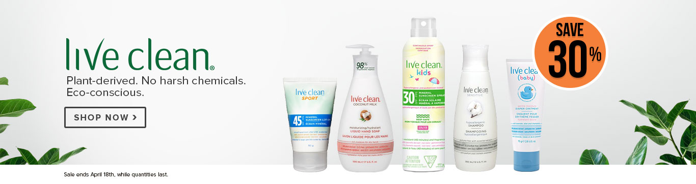 Save 30% on Live Clean