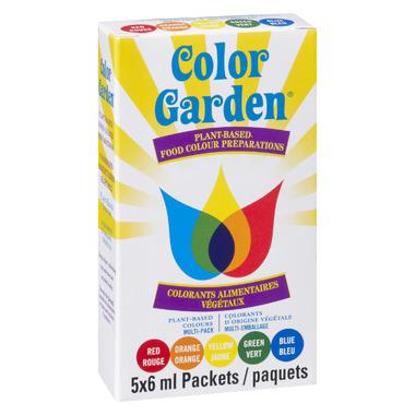 Color Garden Pure Natural Food Colour Multi