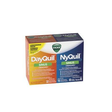 Vicks DayQuil NyQuil Sinus Liquicaps