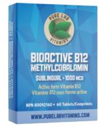 Pure Lab Vitamins Bioactive B12 1000mcg Sublingual