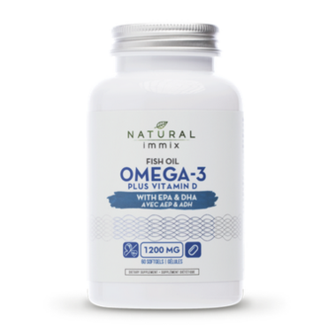 Natural Immix Fish Oil Omega 3 Plus Vitamin D