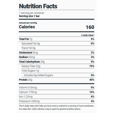 Julian Bakery Stay Thin Grass-Fed Whey Protein Bar Peanut Butter