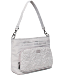 Lug Samba Shoulder Bag Brushed Silver
