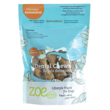 Zoe Antioxidant Dental Chews Small Vanilla Mint
