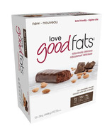 Love Good Fats Rich Chocolatey Almond Snack Bars