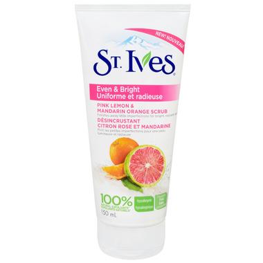 St. Ives Even & Bright Pink Lemon & Mandarin Orange Facial Scrub