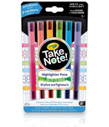Crayola Take Note 2-in-1 Highlighter Pens