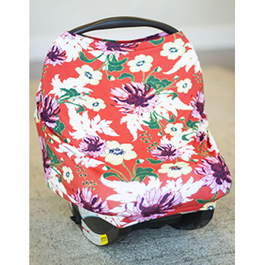 Carseat Canopy Stretchy Car Seat Cover