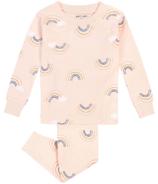petit lem Rainbow Pink Pajamas 2Y-4Y