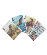 Kikkerland 3-D Dinosaur Playing Cards