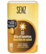 Senzo Bite Of Sunshine D3 Gummies