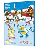 Moo Free Dairy Free Organic Chocolate Advent Calendar