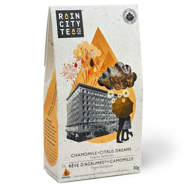 Rain City Tea Co. Chamomile & Citrus Dreams Tea Bags
