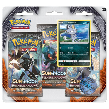 Pokemon Sun & Moon Burning Shadows Blister Pack