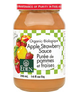 Sauce pomme-fraise biologique d'Eden Foods