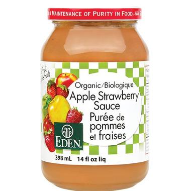 Eden Foods Organic Apple Strawberry Sauce