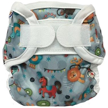 Bummis Super Whisper Wrap Diaper Cover Circus