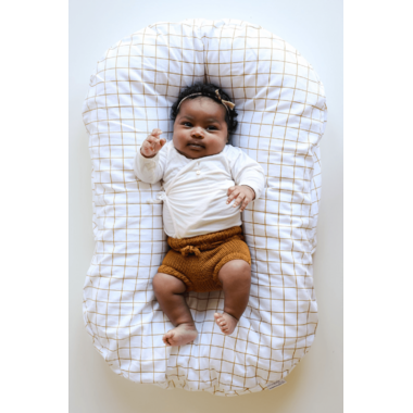 Snuggle Me Organic Lounger with Cover Marigold