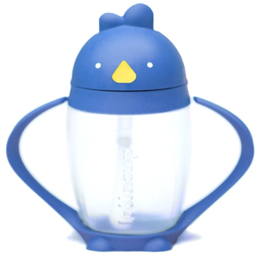 Lollacup Straw Sippy Cup Brave Blue