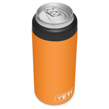 YETI Rambler Colster Slim Can Insulator King Crab Orange