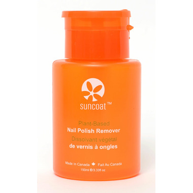 Suncoat Nail Polish Remover With A Pump