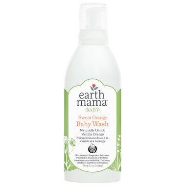 Earth Mama Organics Baby Sweet Orange Baby Wash